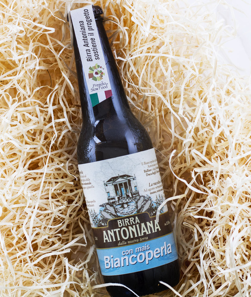 Birra Antoniana Biancoperla slow food